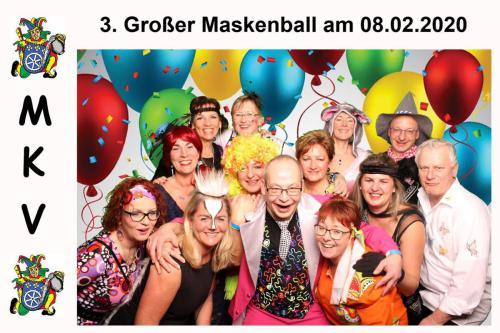 Maskenball Fotobox 2020